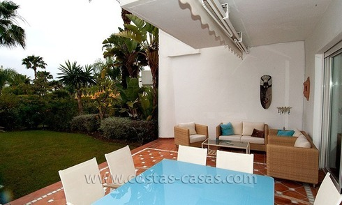 For Sale: Spacious Townhouse with Private Beach Access on the New Golden Mile, Marbella – Estepona