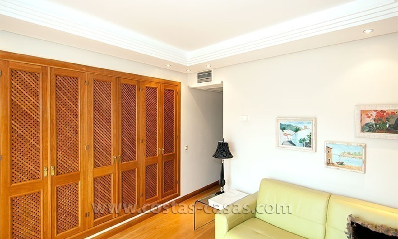 For Sale: Spacious Townhouse with Private Beach Access on the New Golden Mile, Marbella – Estepona 17