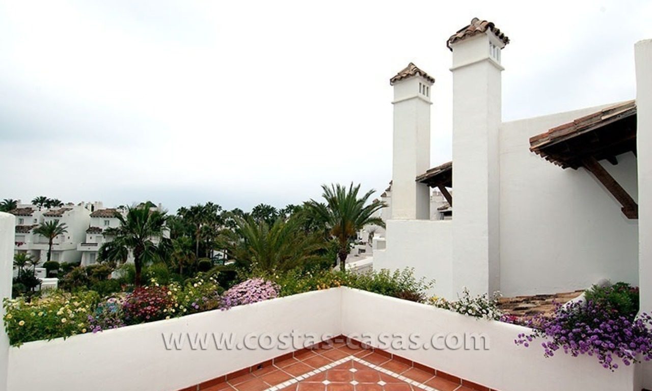 For Sale: Spacious Townhouse with Private Beach Access on the New Golden Mile, Marbella – Estepona 19