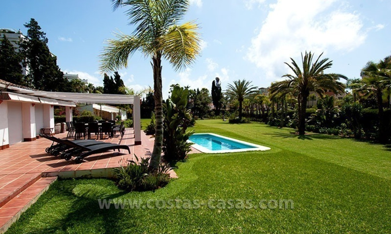 For Sale: Huge Plot Ready for Development in Puerto Banus - Marbella 0