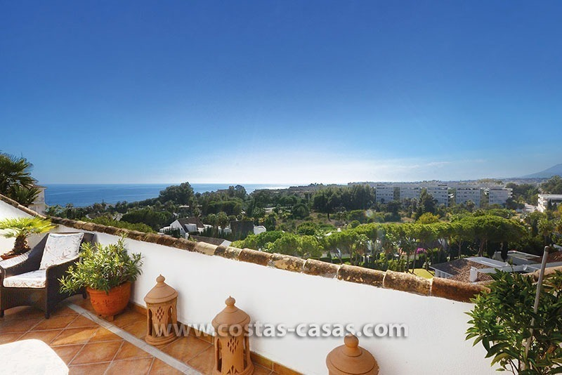 For Sale: Beachside Penthouse near Downtown Puerto Banús, Marbella