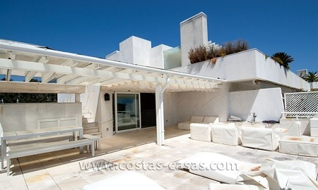 For Sale: Seriously Oversized Modern Golf Apartment in Posh Marbella Estate 1