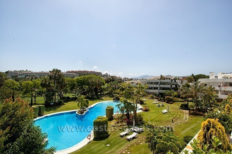 For Sale: Seriously Oversized Modern Golf Apartment in Posh Marbella Estate