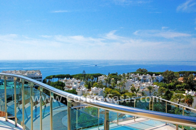 For Sale: Luxury Apartments on the Golden Mile near Beaches and Downtown Marbella