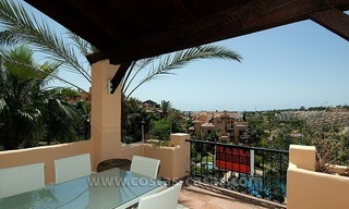 For Sale: Andalusian-Style Duplex Golf Apartment in Estepona – West Marbella 1