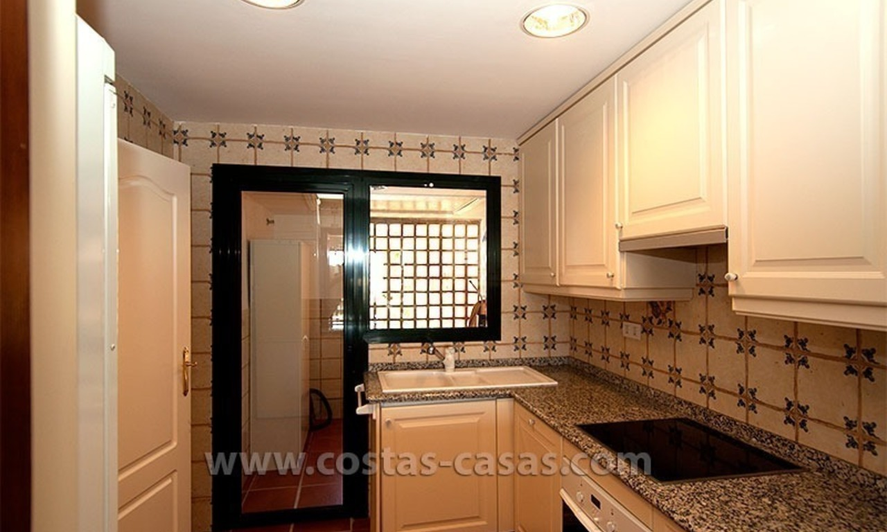 For Sale: Andalusian-Style Duplex Golf Apartment in Estepona – West Marbella 10