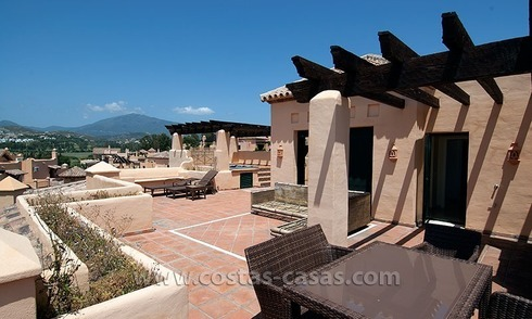 For Sale: Andalusian-Style Golf Apartments in Estepona - West Marbella