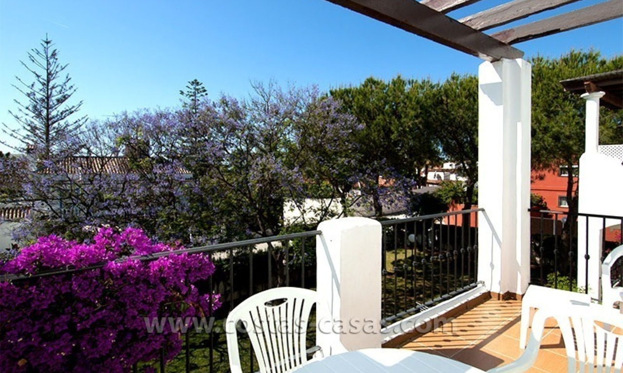 Lovely beachside penthouse apartment for sale, New Golden Mile, Estepona - Marbella 0