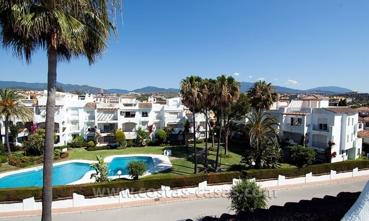 Lovely beachside penthouse apartment for sale, New Golden Mile, Estepona - Marbella 2