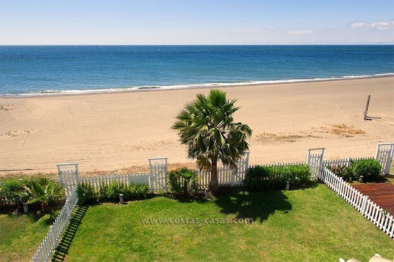 Front Line Beach Property For Sale Costa Del Sol