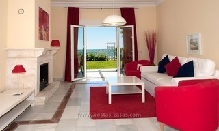 Frontline beach house for holiday rent, first line beach, Marbella - Estepona, Costa del Sol, Spain 6