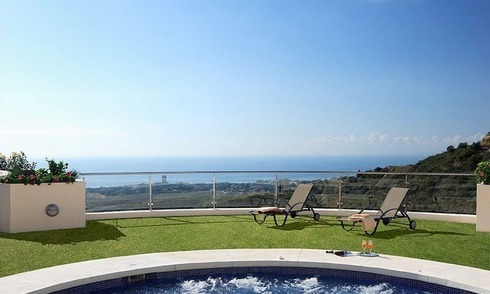 For Sale: Almost-New Modern Luxury Apartment in Marbella
