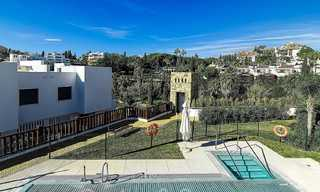 Beautiful new modern townhouse for sale on the Golden Mile, Marbella. Last unit. Key ready. 24036