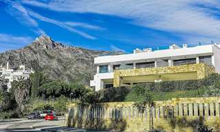 Beautiful new modern townhouse for sale on the Golden Mile, Marbella. Last unit. Key ready. 24040