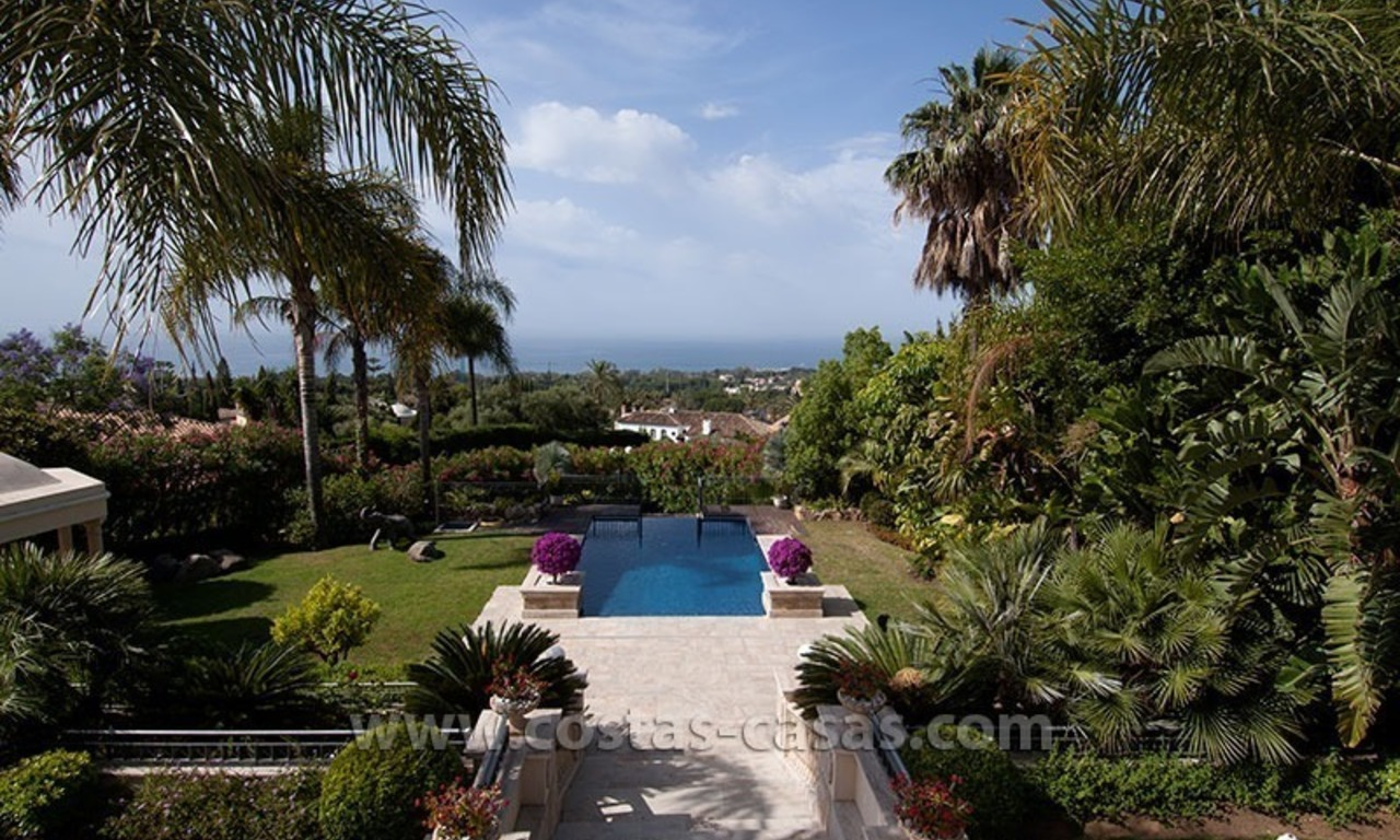 For Sale: Luxury Mediterranean Villa on the Golden Mile – Marbella 1