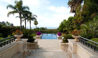 For Sale: Luxury Mediterranean Villa on the Golden Mile – Marbella 0