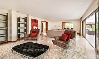 Contemporary style villa for sale in La Zagaleta between Benahavís and Marbella 22721