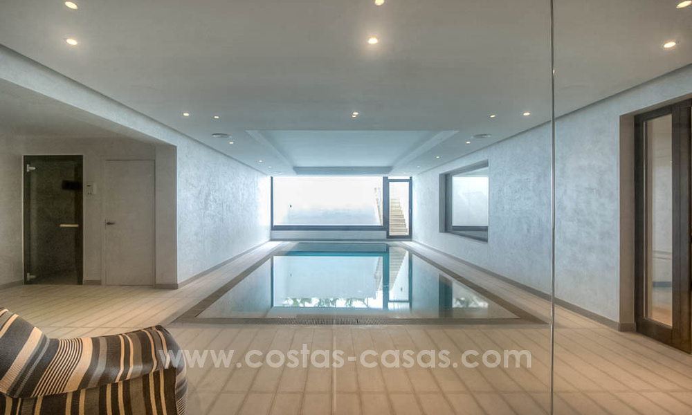 Contemporary style villa for sale in La Zagaleta between Benahavís and Marbella 22724