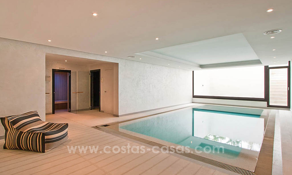 Contemporary style villa for sale in La Zagaleta between Benahavís and Marbella 22725