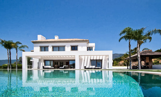 Contemporary style villa for sale in La Zagaleta between Benahavís and Marbella 22728