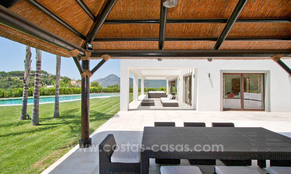 Contemporary style villa for sale in La Zagaleta between Benahavís and Marbella 22729