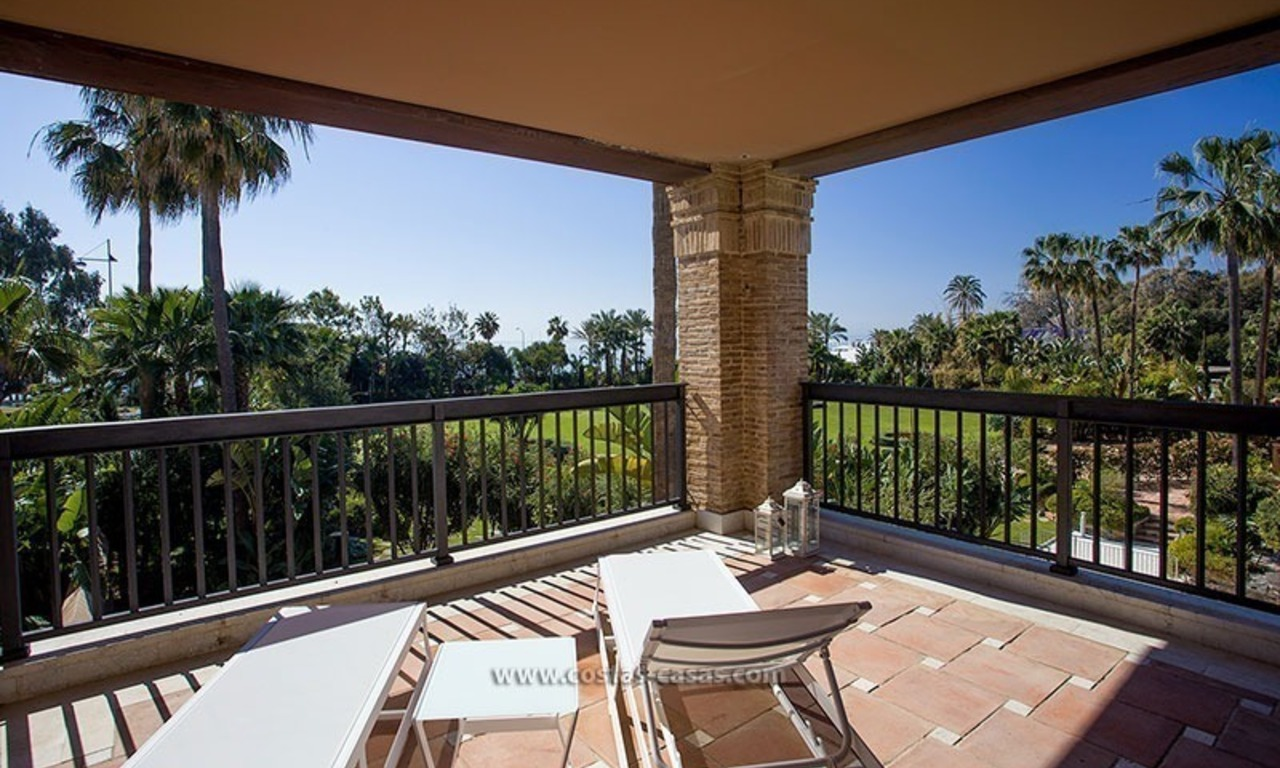 For Sale: Beachfront Luxury Apartments in San Pedro - Marbella. Opportunity: 3 bedroom apartment! 19