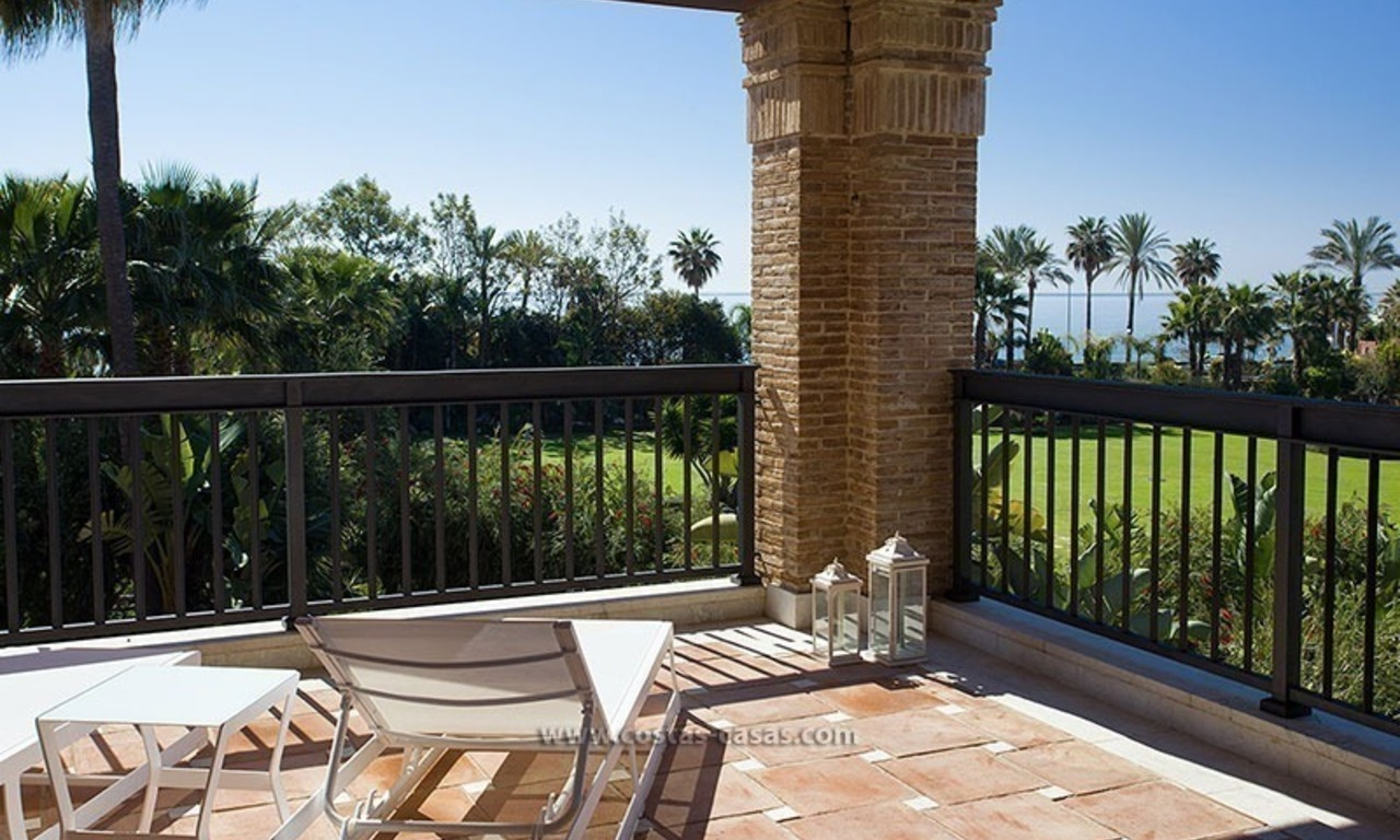 For Sale: Beachfront Luxury Apartments in San Pedro - Marbella. Opportunity: 3 bedroom apartment! 21