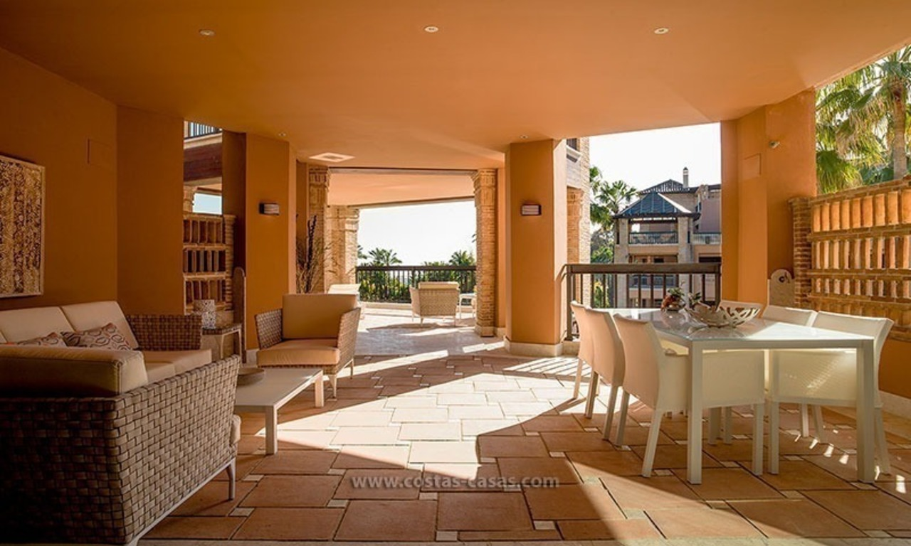 For Sale: Beachfront Luxury Apartments in San Pedro - Marbella. Opportunity: 3 bedroom apartment! 22