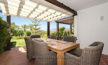 For sale: Frontline Golf Townhouse in Nueva Andalucía, Marbella