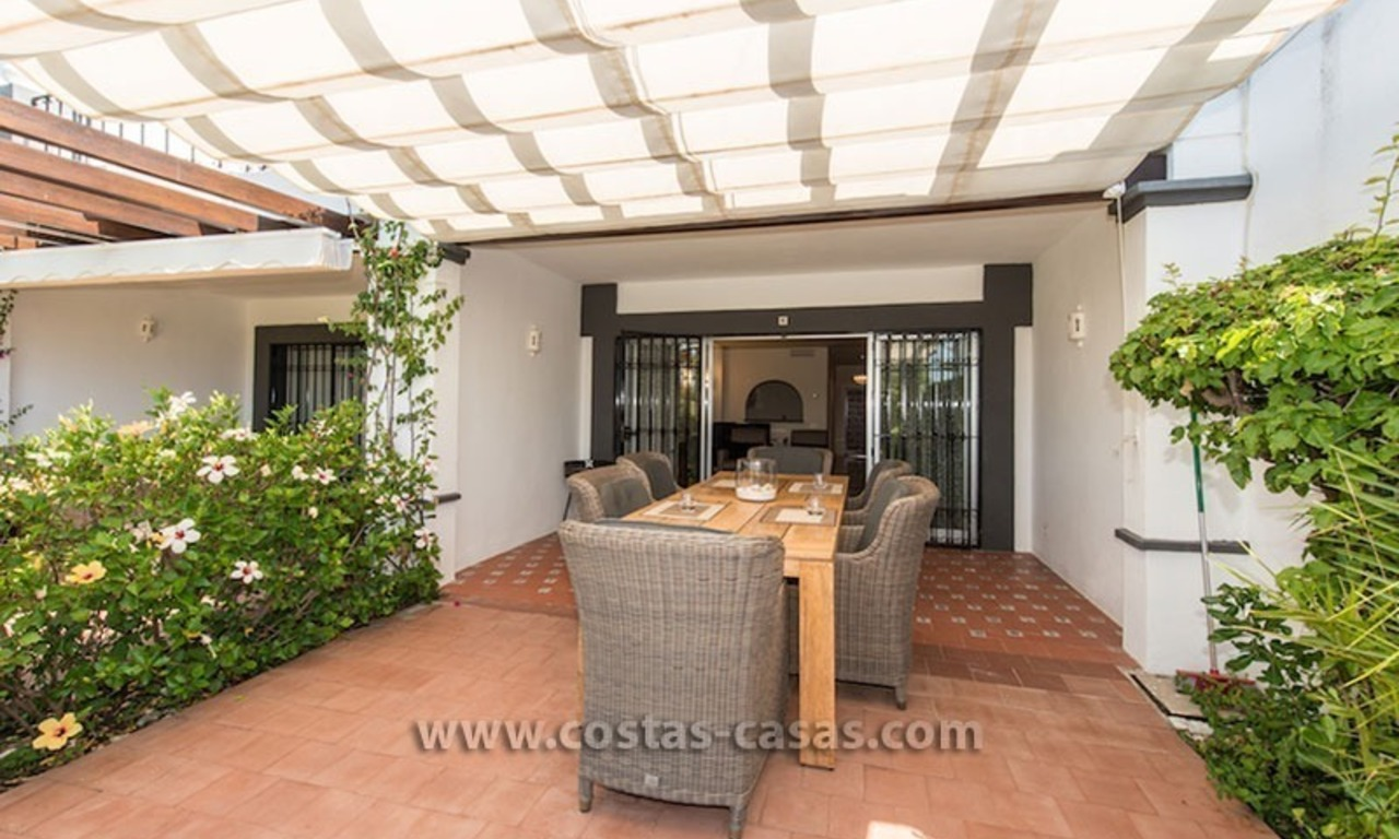 For sale: Frontline Golf Townhouse in Nueva Andalucía, Marbella 1