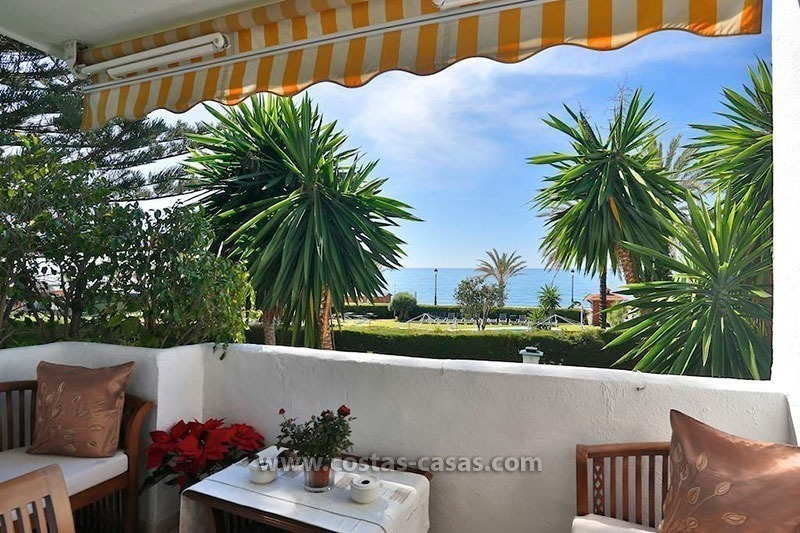 For Sale: Frontline Beach Apartment in San Pedro de Alcántara, Marbella 0