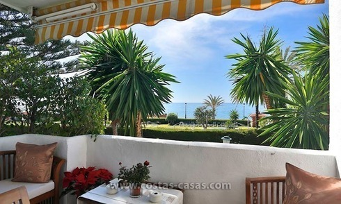 For Sale: Frontline Beach Apartment in San Pedro de Alcántara, Marbella