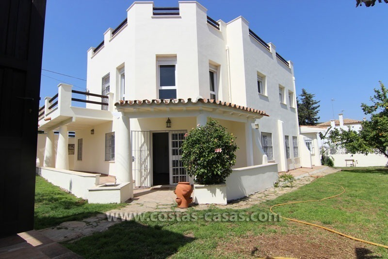 For Sale: Beachside Villa in San Pedro de Alcántara, Marbella 0