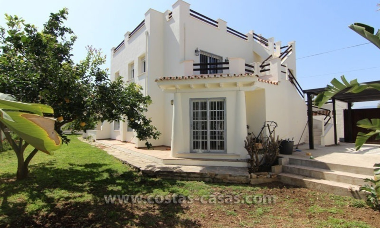 For Sale: Beachside Villa in San Pedro de Alcántara, Marbella 1