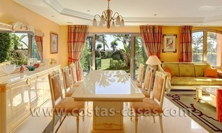 For Sale in Puerto Banus, Marbella: Exclusive beachfront garden apartment 3