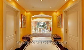 For Sale in Puerto Banus, Marbella: Exclusive beachfront garden apartment 4