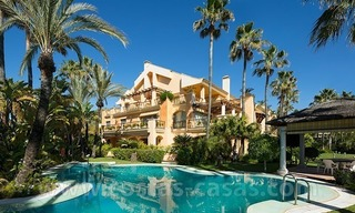 For Sale in Puerto Banus, Marbella: Exclusive beachfront garden apartment 0