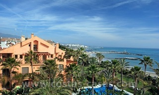 For Sale in Puerto Banus, Marbella: Exclusive beachfront garden apartment 14