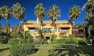 For Sale in Puerto Banus, Marbella: Exclusive beachfront garden apartment 16
