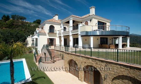 For Sale: Hill-top Mansion in La Zagaleta, Benahavis - Marbella