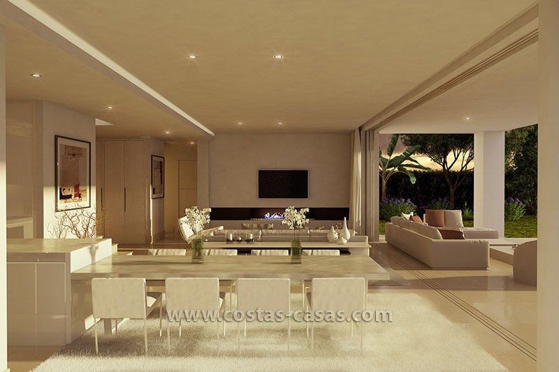 Brand new modern villa for sale east marbella for Interieur villa de luxe