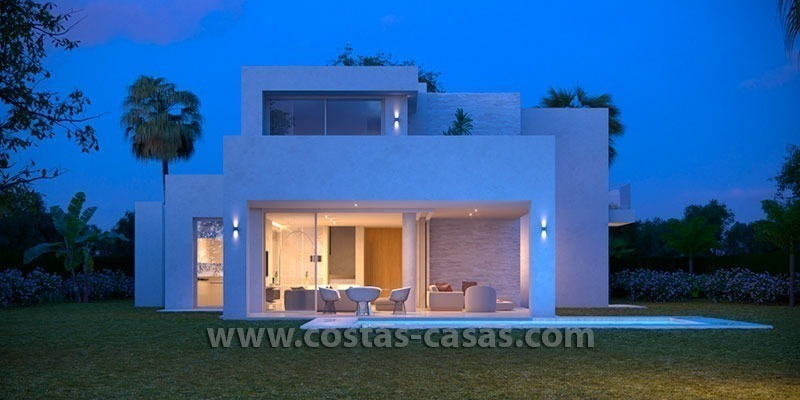 New Contemporary and Spacious Villa for Sale in East Marbella