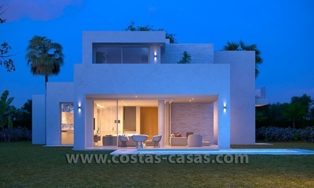 New Contemporary and Spacious Villa for Sale in East Marbella 0