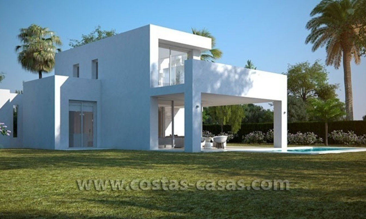 New Contemporary and Spacious Villa for Sale in East Marbella 1