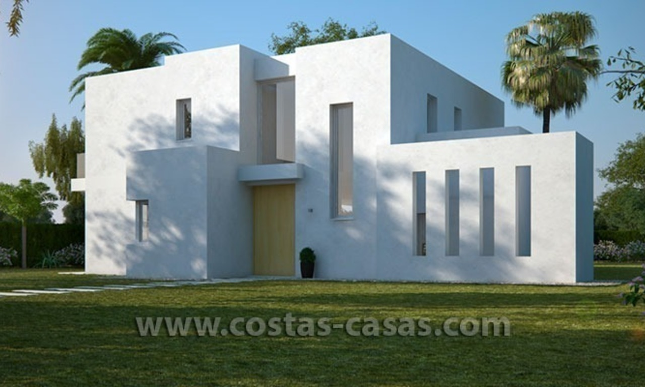 New Contemporary and Spacious Villa for Sale in East Marbella 2