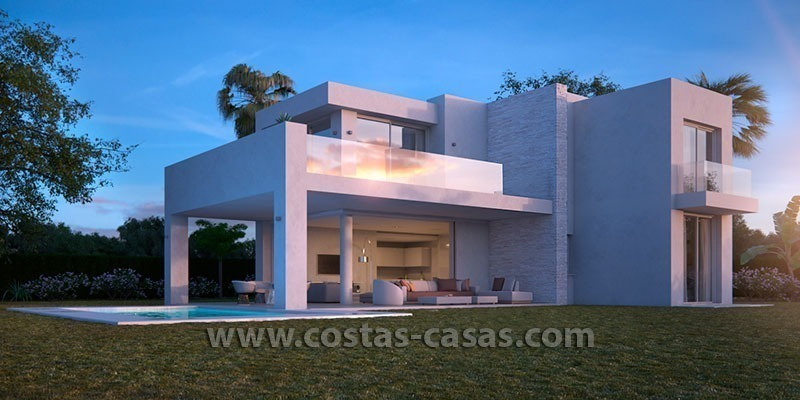 New Modern Villa for sale in East Marbella