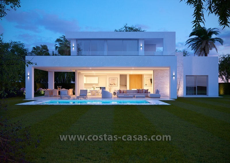 Stylish Modern Designer Villa for Sale, Newly Build, in East Marbella