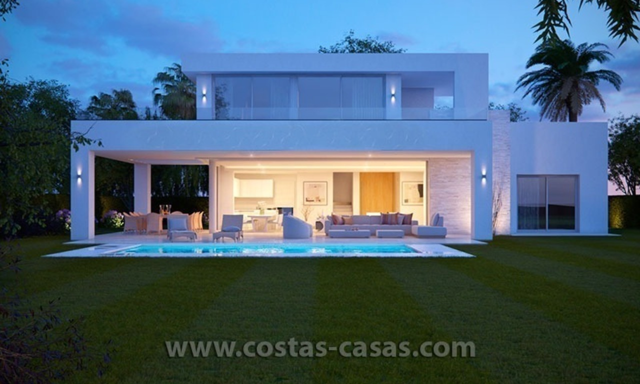 Stylish Modern Designer Villa for Sale, Newly Build, in East Marbella 0