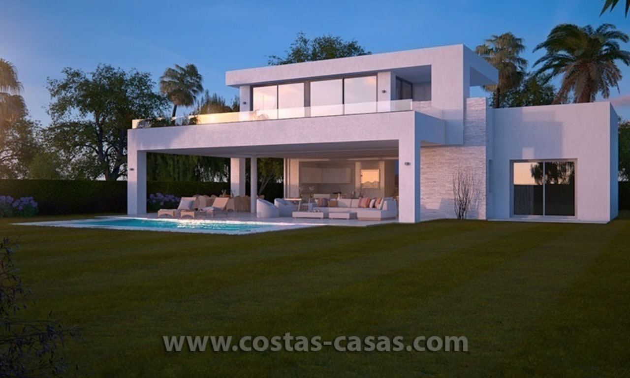 Stylish Modern Designer Villa for Sale, Newly Build, in East Marbella 1