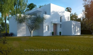 Stylish Modern Designer Villa for Sale, Newly Build, in East Marbella 2